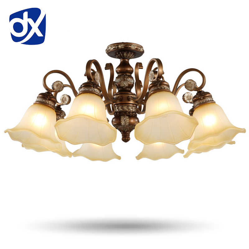Classical Resin Chandelier Light European Style Chandelier Lighting Living Room Bedroom Lamp chandelier lighting ceiling