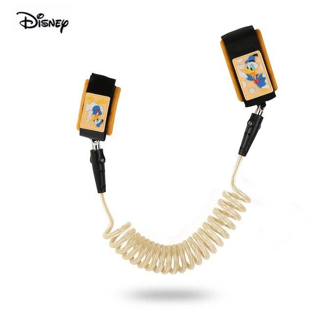 Disney Baby Bracelet Rope Safety Lock Anti Lost Wrist Tie Toddler Leash Harness Walking Outdoor Hand Belt Bracelet