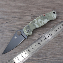 Great Quality C81 Knife G10 Handle 58 HRC Steel Blade Folding Knife Outdoor Camping Survival Tool Tactical Knives
