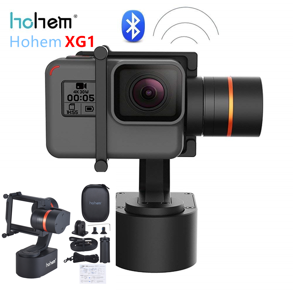 Hohem XG1 3 Axis Wearable Mountain Bike Gimbal Stabilizer for GoPro Hero 7 6 5 4