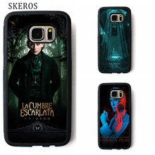 SKEROS Crimson Peak cover phone case for samsung galaxy S3 S4 S5 S6 S7 S8 S6 edge S7 edge Note 3 Note 4 Note 5 #rr125(China)