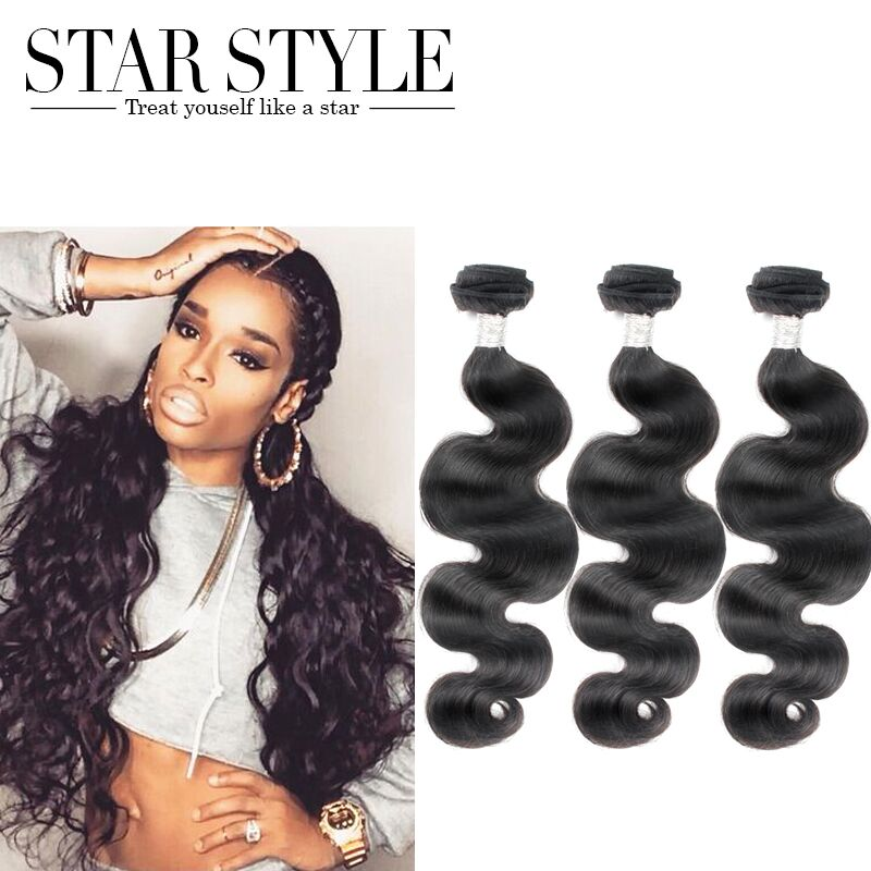 Star Style Hair Brazilian Body Wave 7a Grade 3pcs Brazilian Virgin Hair Extenstion Malibudollface Weave Bundles Free Shipping Weave Queen Hair Extensions Hair Dressweave Human Hair Extensions Aliexpress