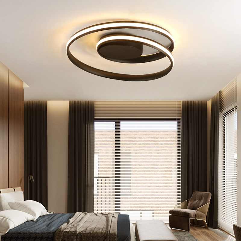 NA ceiling lights Bedroom lamp warm romantic restaurant light simple modern personality living room study aluminum led lightNA ceiling lights Bedroom lamp warm romantic restaurant light simple modern personality living room study aluminum led light