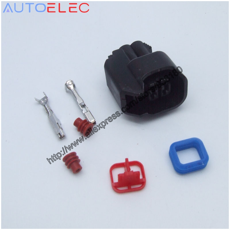HP3945 Fuel Injector Plug Kits US CAR Female Adapter,ev6 ev14 US CAR Fuel Injector Connector For Ford Chevy Dodge GM Chrysler