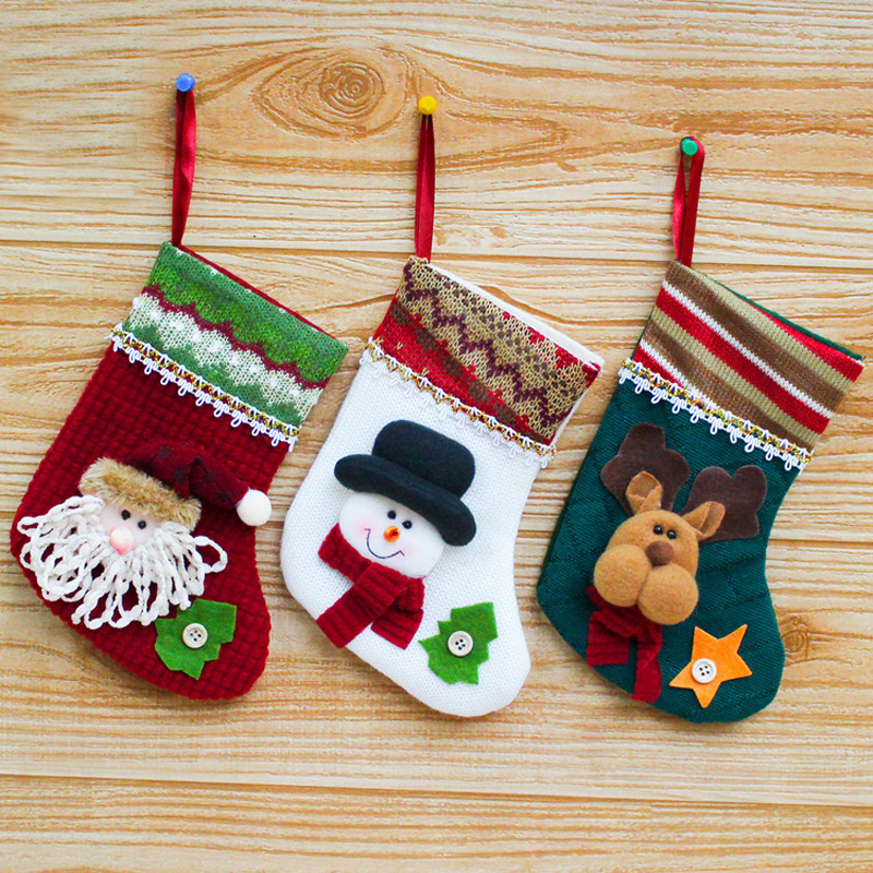 Fashion new style cartoon santa claus snowman elk for Sia home fashion christmas decorations