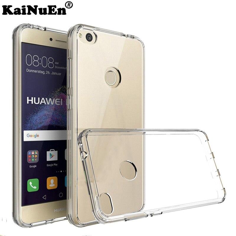 Caso coque de Silício para huawei p8 p 8 kainuen/p8 lite p8lite/p8 lite 2017 de Silicone caso de telefone de Luxo 3d tpu tampa traseira macia