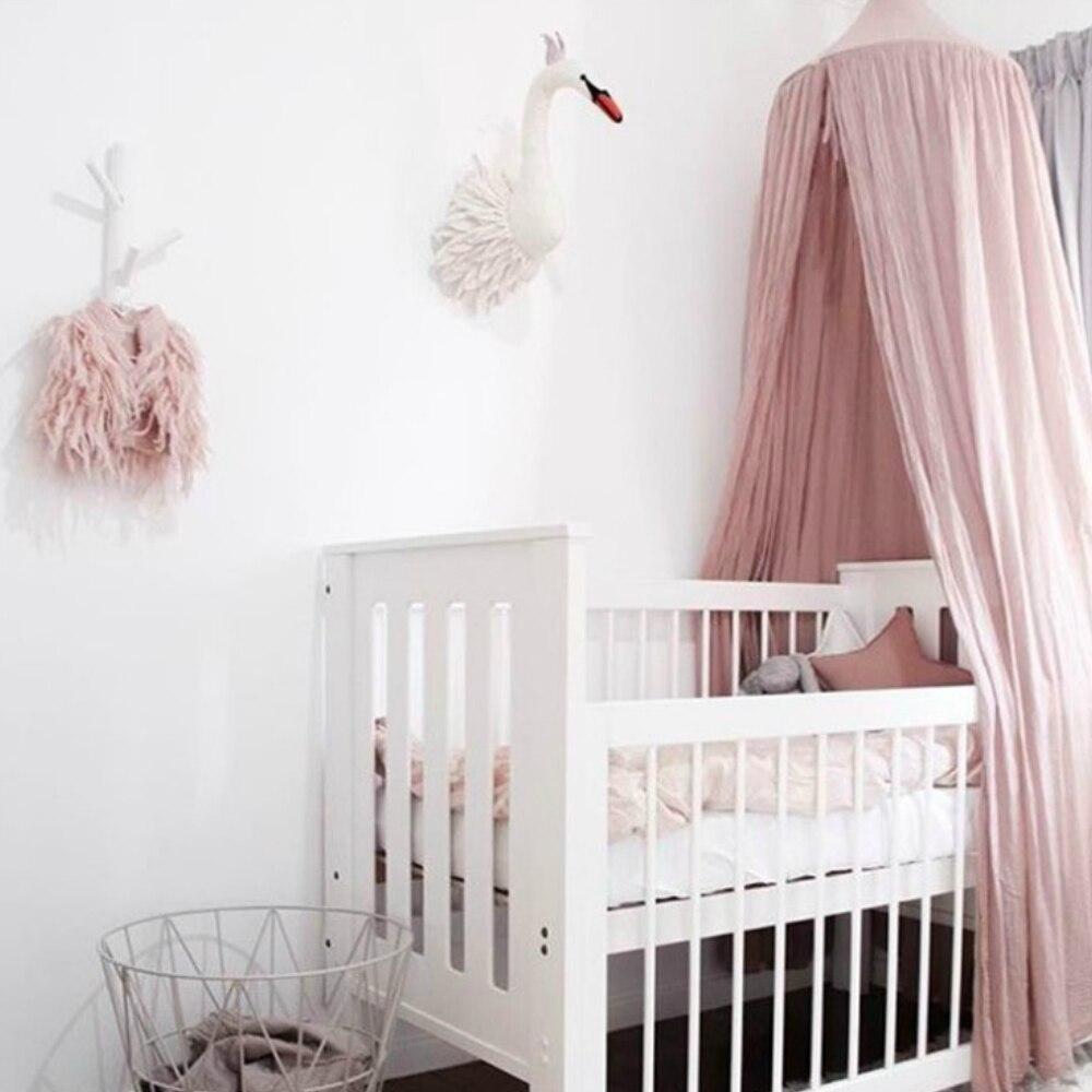 Lit enfant rideau literie dôme lit suspendu auvent lit circulaire cantonnière