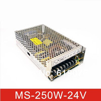 Kleine size 250W24V10A stroomvoorziening MS-250-24power supply Mini type