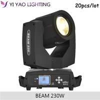disco lighting for stage sharpy lamp beam 230W 7r 8/16 prism moving head light 20PCS/LOT