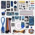 Envío gratuito Super Mega 2560 Starter Kit para Arduino 1602LCD RFID Del Motor Relé Zumbador