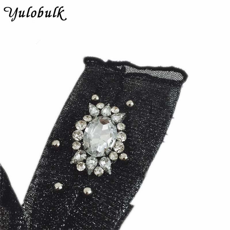 European Style Flash Sequins Precious Stone Glitter Socks Women Hand Made Lace Sheer Socks Silk Heap Heap Meias Calcetines Sox