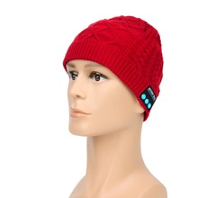 Beanie Hat Wireless Talk Call Bluetooth Smart Cap Headphone font b Headset b font Speaker Mic