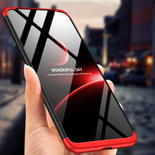 For Huawei Honor V20 View 20 Case 360 Degree Full Body Cover Hybrid Shockproof + Tempered Glass