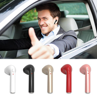 Mini Bluetooth Earbud HBQ I7 Single Wireless Invisible Headphones Headset With Mic Stereo Bluetooth Earphone For