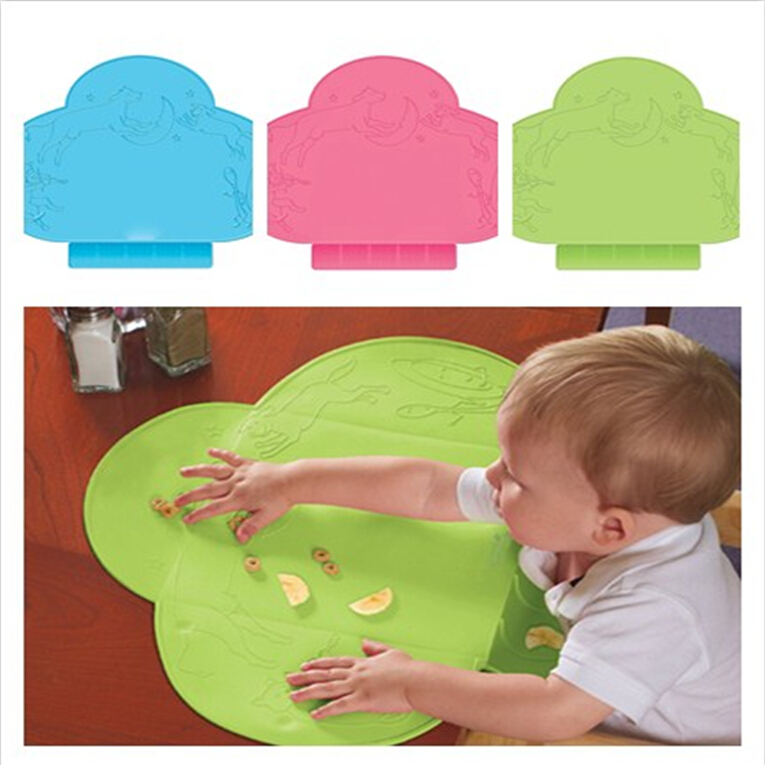 Infant Silicone Children Placemats Zoo Infant Silicone Cartoon Table Mats  Waterproof Portable Foldable BPA Free Baby Mat In Mats U0026 Pads From Home U0026  Garden ...