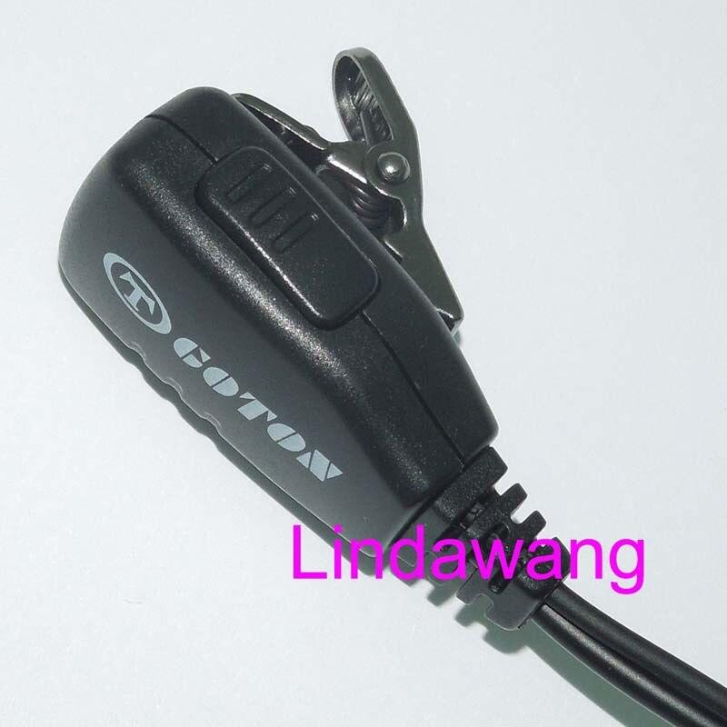 Earhook Earloop Earpiece For ICOM IC-F3001 IC-F4001 IC-F4011 IC-V8 IC-V80 Radio