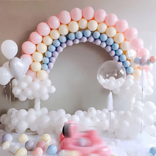 Mix Color Macaron Latex Balloons Wedding Birthday Party  Baby Decor Shower Girl 2.2g 40pcs Pink Mint Rose Air Helium
