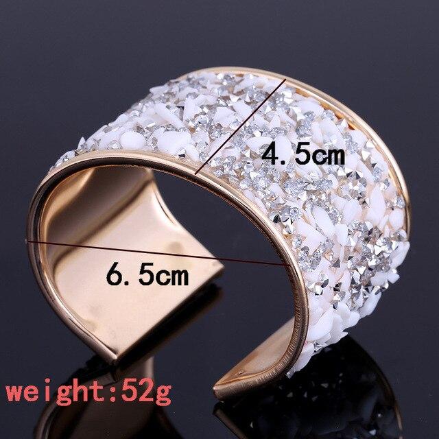 Lzhlq женский браслет мода стиль металл кристалл женские Украшения