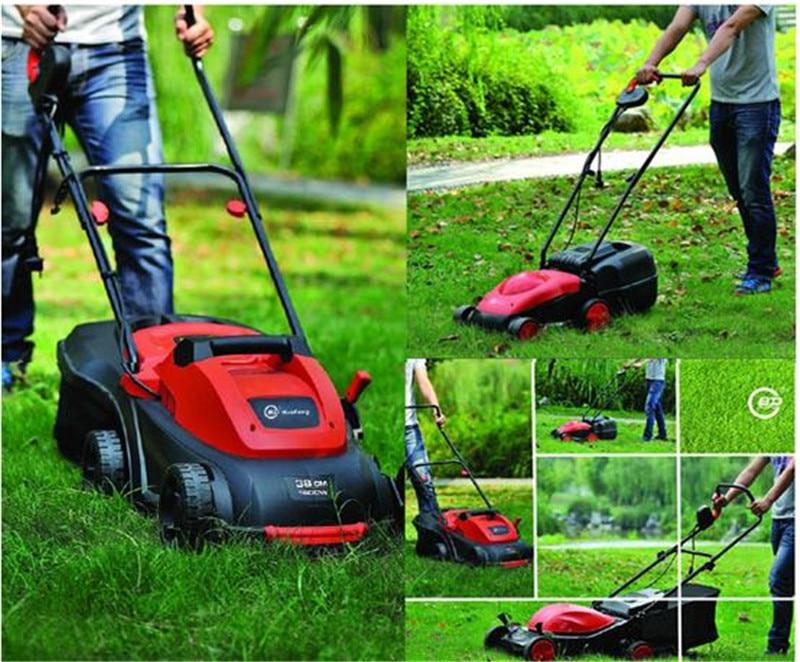 Трава Strimmer Multi Tool кисточки резак 1200 Вт Электрический садовый инструмент газон Mover колеса газонокосилки робот косилка