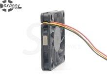 SXDOOL 6010 6CM R126010BU doble bola 12V0.35A ventilador CPU refrigerador 60*60*10mm (400 unids/lote)