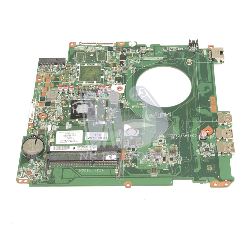 809987-501 809987-001 812903-501 For Hp pavilion 17-F Laptop Motherboard DAY22AMB6E0 A6-6310 CPU DDR3 Full tested футболка gulliver gulliver gu015egatam9