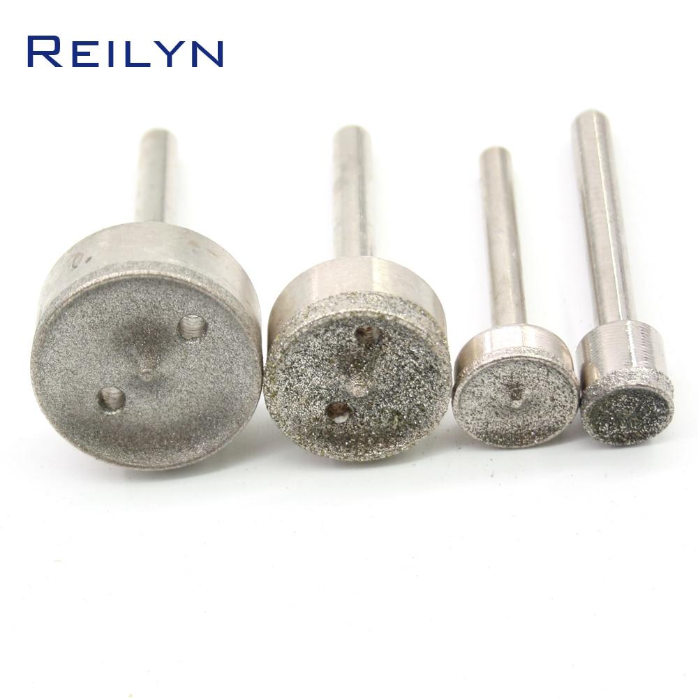1 Pc Emery Diamond Grinding Burr Diamond Bit Dremel Abrasives For Jade Grinding Dremel Tools Polishing Die Grinder  For Dremel