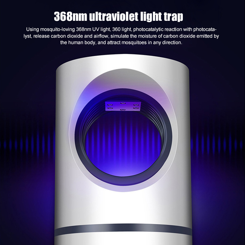 Low voltage UV Light USB Mosquito Killer Lamp Electric Fly Mosquito Trap Anti Mosquito Repellent Bug Zapper Killer Night Light in Mosquito Killer Lamps from Lights Lighting