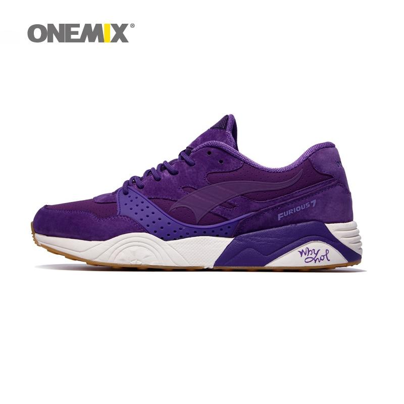Onemix corrientes de los hombres zapatos de gamuza de piel adultas zapatos zapat