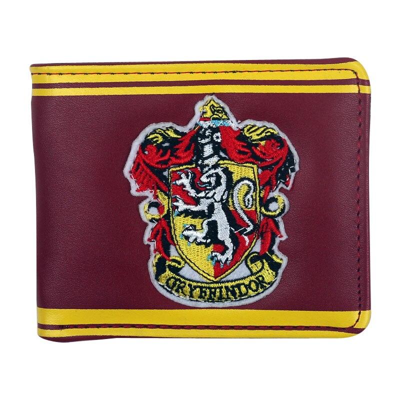 Herrenbekleidung & Zubehör Harry Potter Gryffindor Logo Bi-falten Brieftasche Potter Owl Post Männer Brieftaschen Mit Karte Halter Mode Geldbörse Neue Waren Des TäGlichen Bedarfs