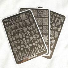 1Pcs 9.5*14.5CM Beauty Pattern Nail Stamping Plates Nail Art Templates