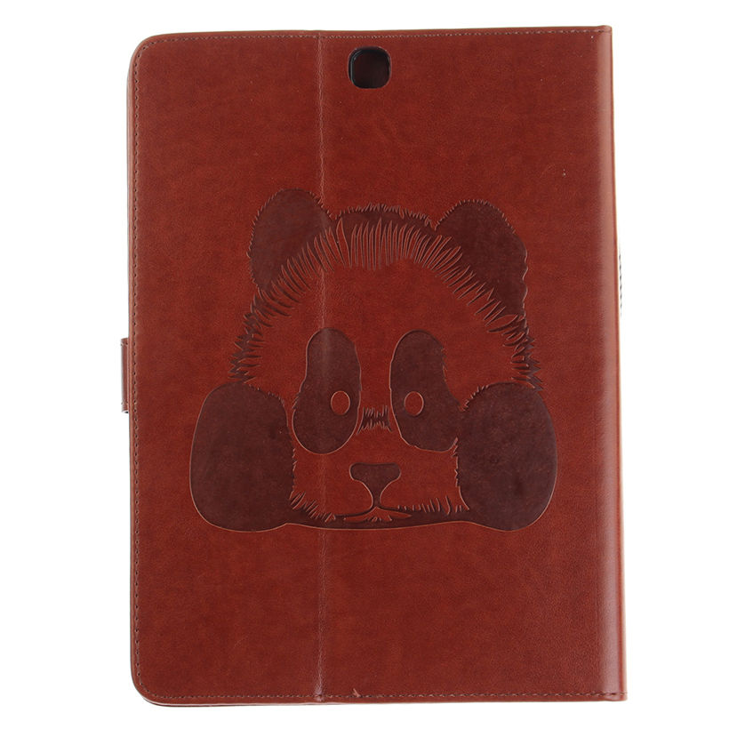 Tab S2 9.7 Inch Case Panda Pattern PU Leather Cover For Samsung Galaxy Tab S2 9.7 T810 T815 Case Tablet Wallet Stand Shell Funda
