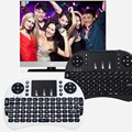 2017 New Hot 2.4G RF I8 Rii mini Teclado Sem Fio Touch Pad do mouse gaming Teclado para HTPC Laptop Tablet PC Teclado