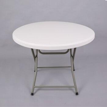 PEAD mesa dobrável de plástico redondo para o restaurante do hotel para casa e ao ar livre 95Y