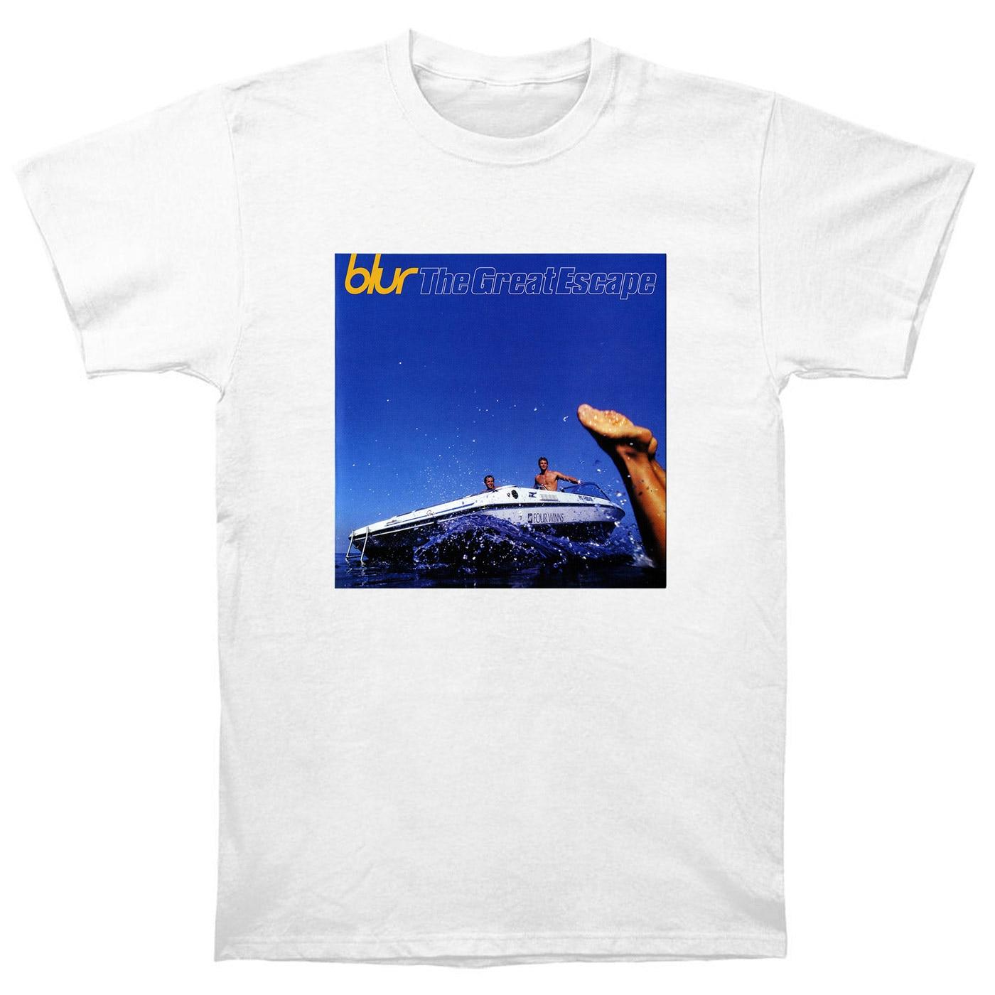 Verwischen Die Great Escape T-shirt CD Vinyl Poster T-Shirts Neue