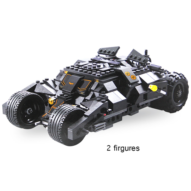 Decool 7105 Superheros Dc Batmobile Car Batman Joker Figure Block