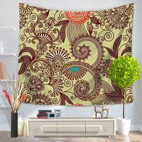 Bohemian Tapestry Home Decoration Door Hanging Wall Blankets Mandala Wall Tapestry Decoration Carpet Tapiz Pared Hippie Tapestry