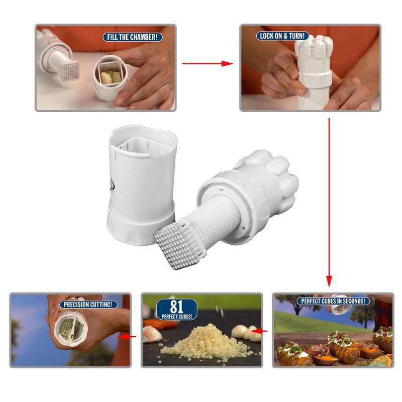 Knoblauch Ingwer Brecher Gemüse Schleifen Drücken Cutter Küche Kochen Werkzeug Knoblauch Master Semenate Gemüse Perfekt Mühle