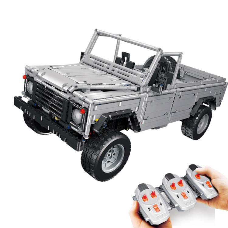 Lepin 23003 Technic series MOC Remote-Control Wild off-road vehicles model LegoING Building Blocks Bricks toys for boy Children lepin 20054 4237pcs the moc technic series the remote control t1 classic volkswagen camper set 10220 building blocks bricks toys