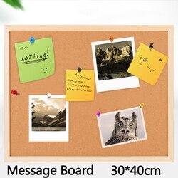 12 мм пробковая доска коричневая доска для объявлений пробковая доска для объявлений стиль ногтей доска для объявлений 30*40 см