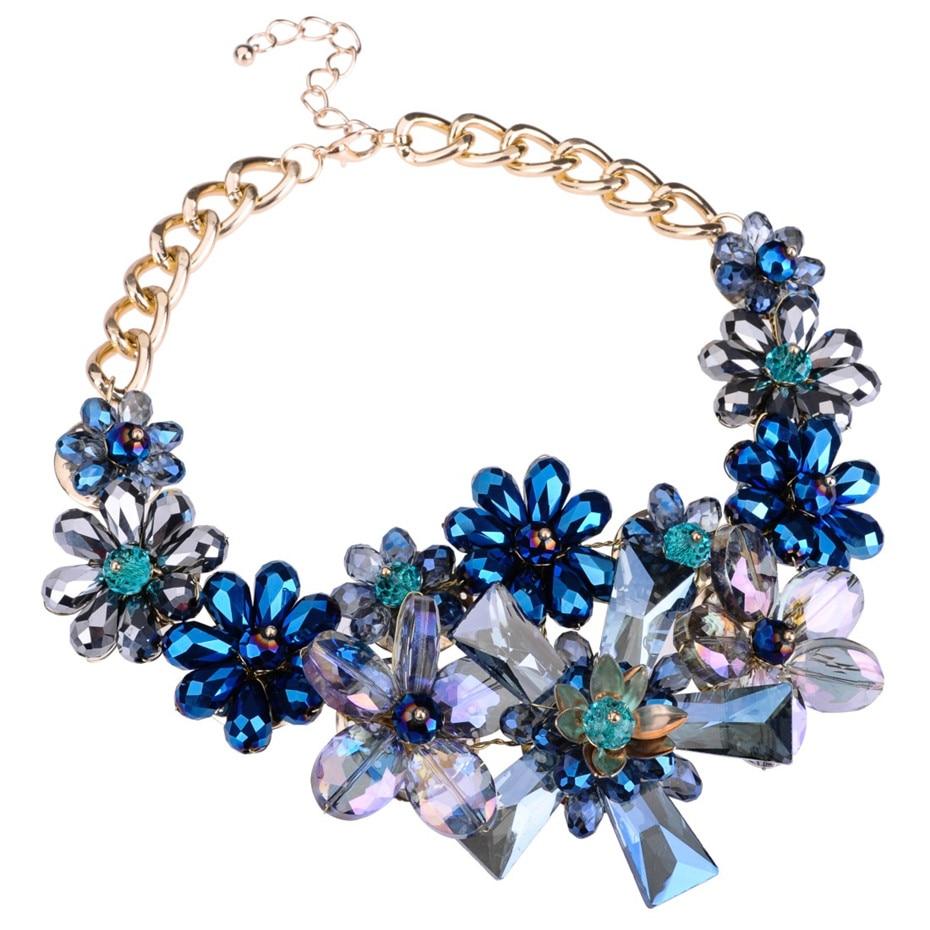Λουλούδια κρύσταλλα λουλούδι - Κοσμήματα μόδας - Φωτογραφία 2