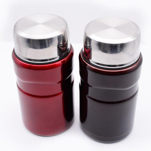 500/700ml Food thermos for soup lunch meal box of double walled 304 stainless steel Vacuum Flasks Coffee Thermos Cup