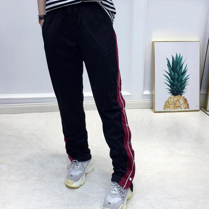 T-inside1139 2018 Summer Trousers For Women Elmer Mr Wonderful Shose Women Joggers Women Fake Designer Clothes Pants Female