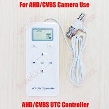 2 в 1 AHD CVBS аналоговая HD CCTV камера UTC управление ler UP коаксиальный пульт дистанционного управления видеонаблюдения BNC коаксиальный кабель OSD меню