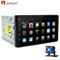 Junsun 7 inch 2 Din Android 6.0 Car DVD Player Radio GPS Navigation Quad Core Universale Bluetooth autoradio Stereo 1024*600