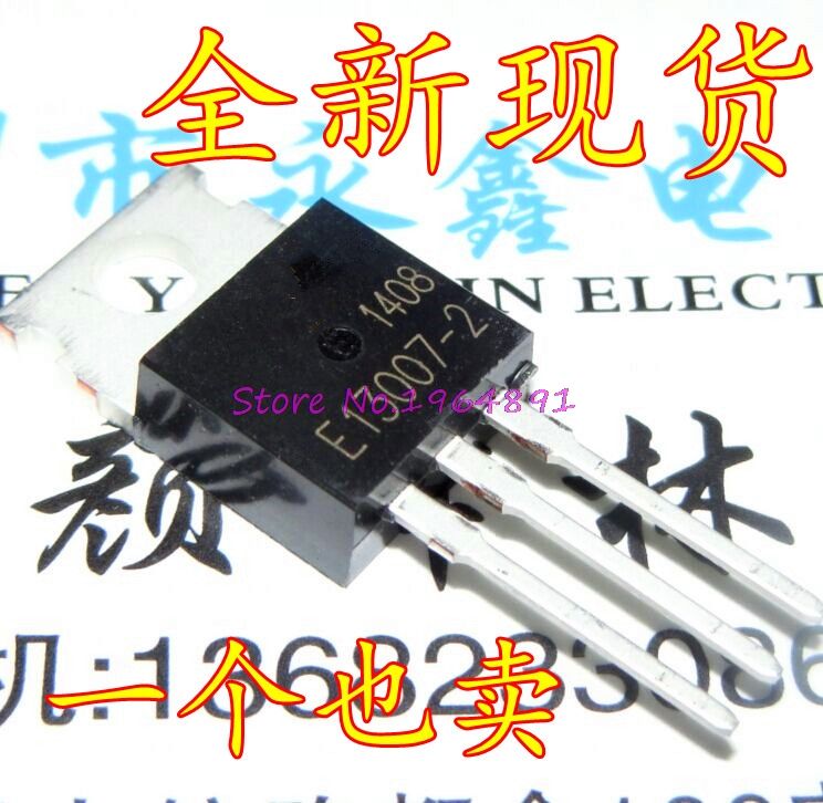 4pcs/lot FJP13007 MJE13007 J13007 J13007-2 TO-220 In Stock