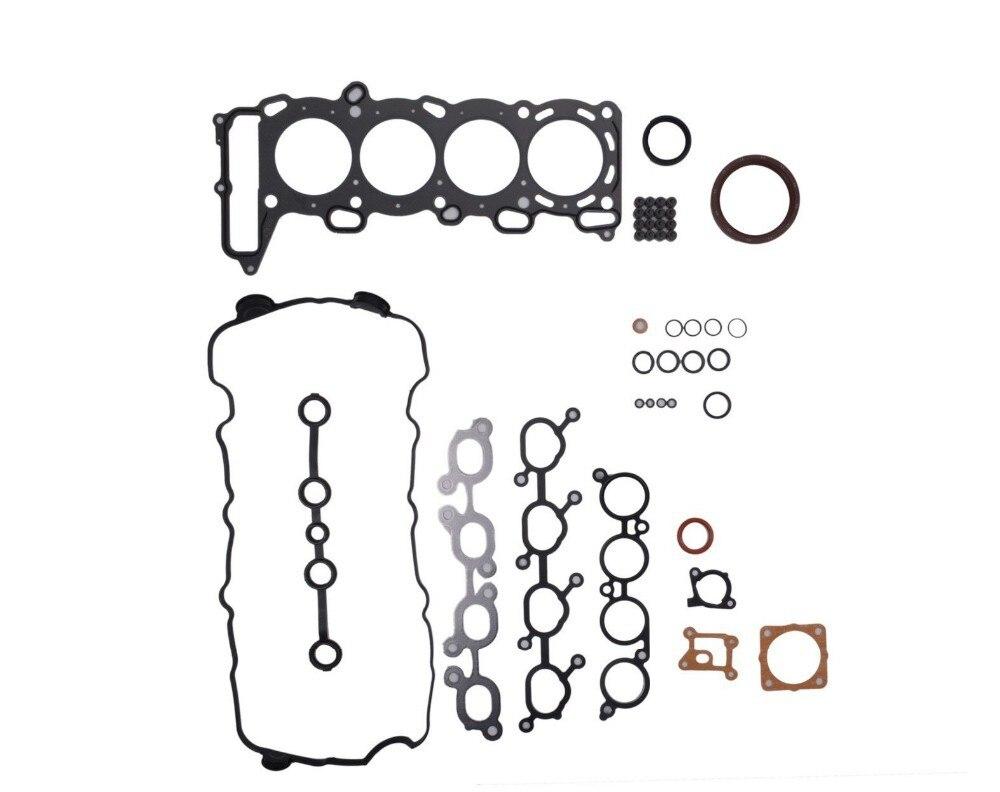 Full Gasket Set fit for Nissan SR20DE Bluebird 2 0L DOHC 16V 10101 78E27