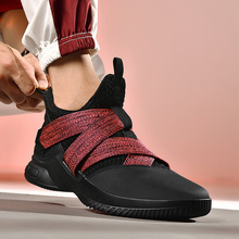 Hot Sale Basketball Shoes Comfortable High Top Gym Training Boots Ankle Boots Outdoor Men Sneakers Athletic Sport Shoes 2019 peak sport men basketball shoes revolve tech breathable comfortable ankle boots non slip athletic training sneakers eur 40 47