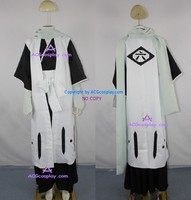 Bleach 6th Division Captain Kuchiki Byakuya Cosplay Costume inc.gloves and scarf