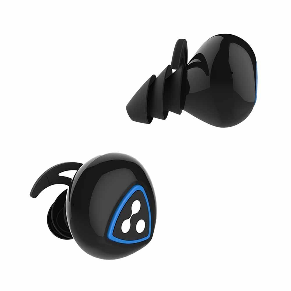 Moveski Wireless Bluetooth Earphone D900S Waterproof Invisible Auriculares Noise Canceling Earbuds Micro Stereo Headset -Black