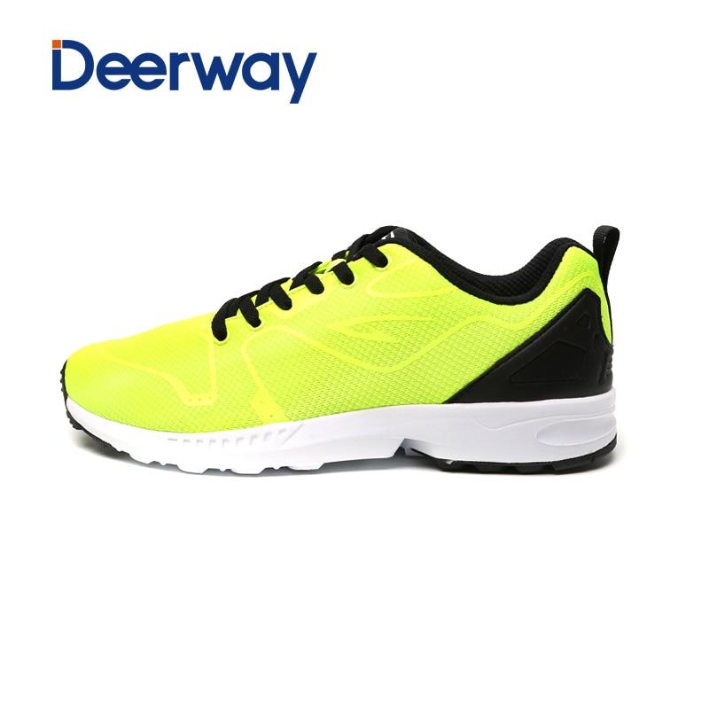 4f16411f Nuevos zapatos corrientes para los hombres zapatillas Zapatillas Hombre  ultraligero deporte chaussure Homme marca corredores Barefoot malla  Encaje-up
